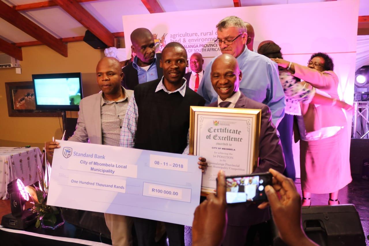 City of Mbombela Local Municipality celebrating at the GMC